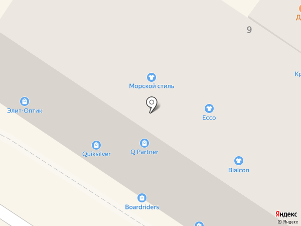 Минами на карте Геленджика