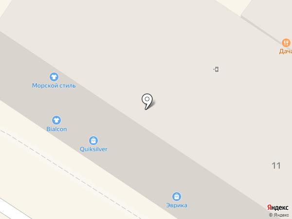 Элит-Оптик на карте Геленджика