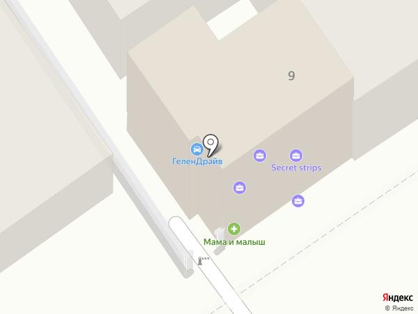 Дорожное радио Южный регион, FM 102.9 на карте Геленджика