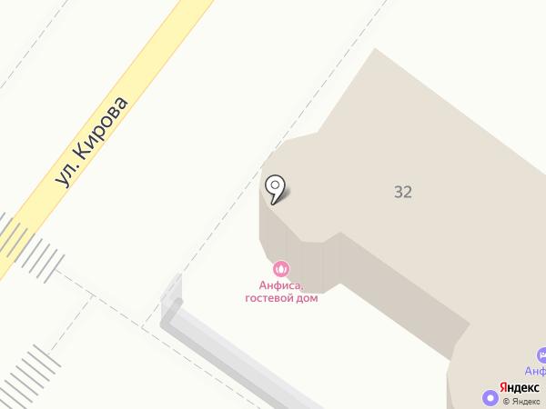 Сауна на карте Геленджика