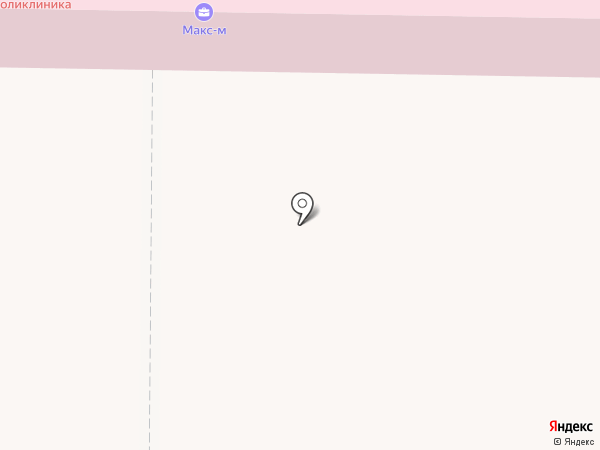 Быковская поликлиника на карте Быково