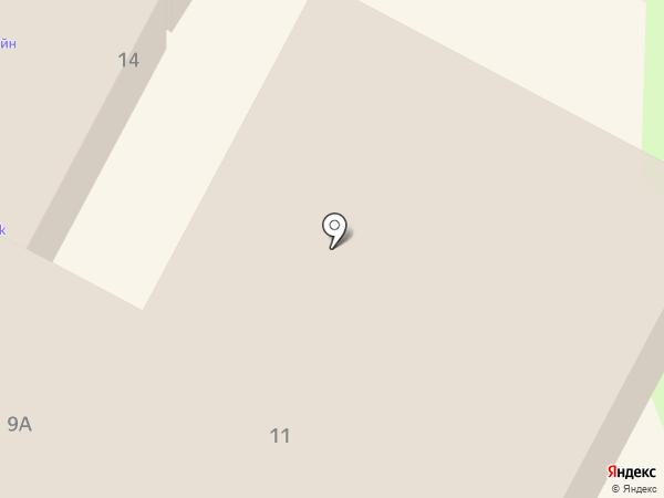 Геленджикская городская баня, МУП на карте Геленджика