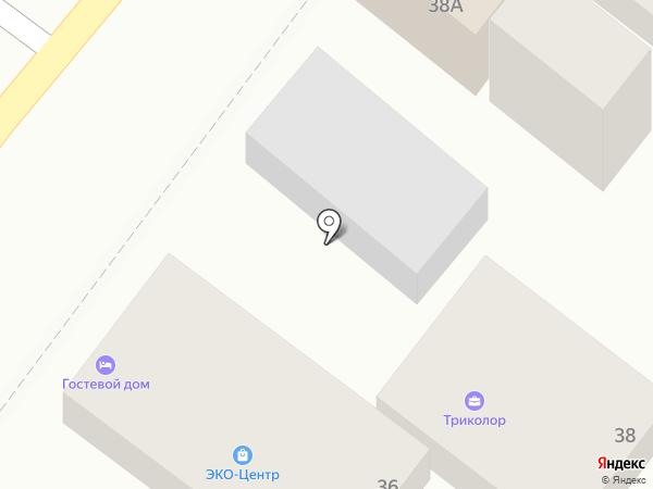 Эко-Центр на карте Геленджика