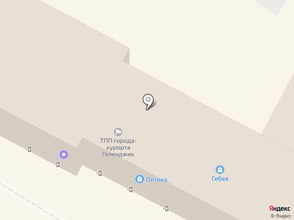 CINNABON на карте Геленджика