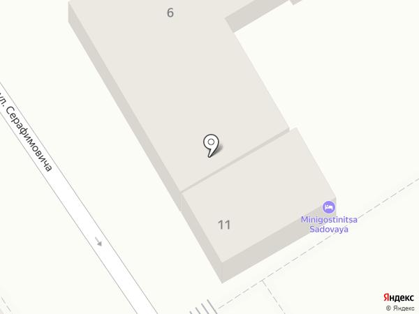 Взрослый на карте Геленджика
