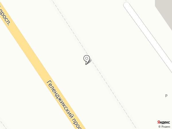 Банкомат, Россельхозбанк на карте Геленджика