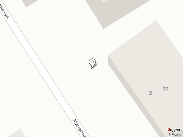 Юта на карте Геленджика