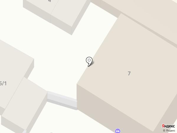 На Первомайской, 7 на карте Геленджика