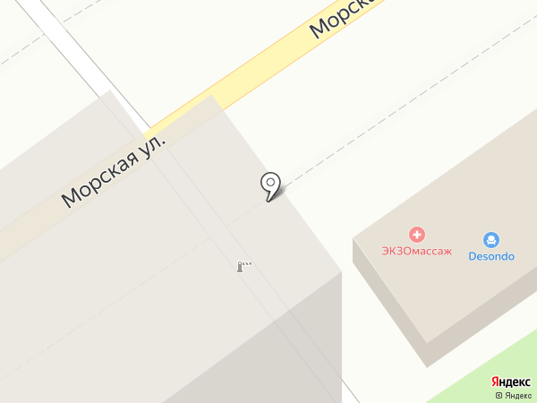 Ирида на карте Геленджика