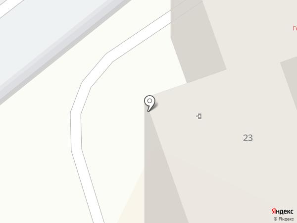 Модус на карте Геленджика