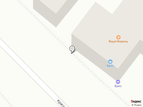 Продуктовый магазин на карте Геленджика