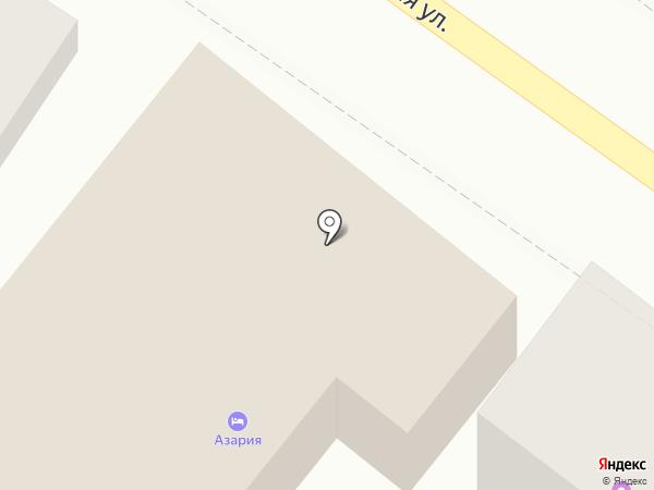 Азария на карте Геленджика