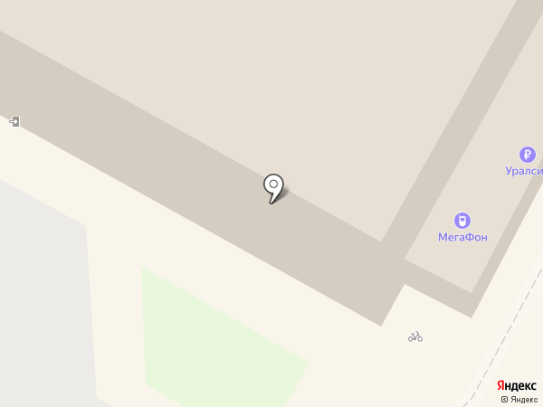 МегаФон на карте Геленджика
