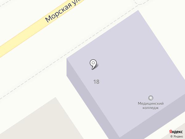 НМК на карте Геленджика