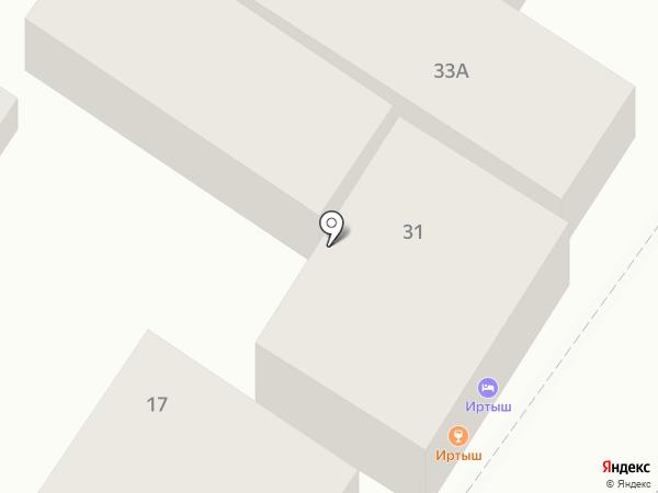 Иртыш на карте Геленджика