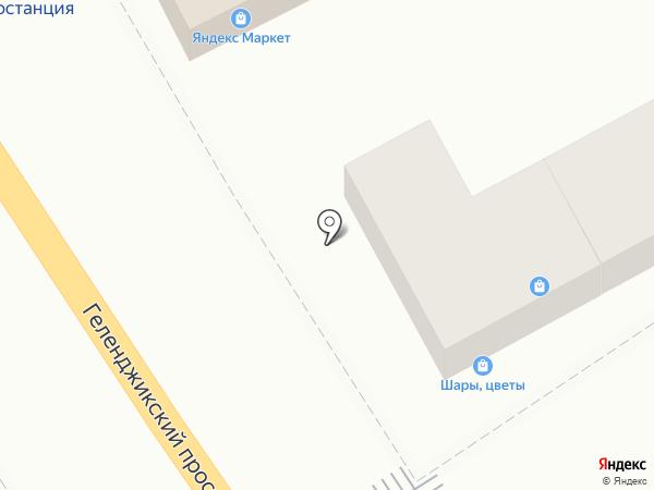 Марго на карте Геленджика