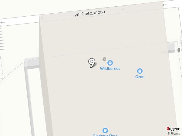 Ангел на карте Геленджика