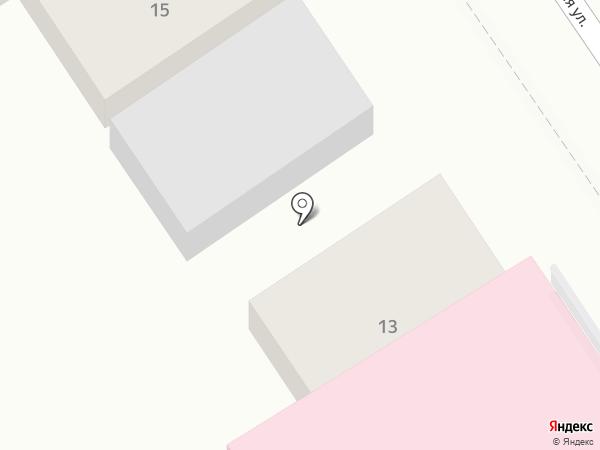 Геленджикский психоневрологический диспансер на карте Геленджика