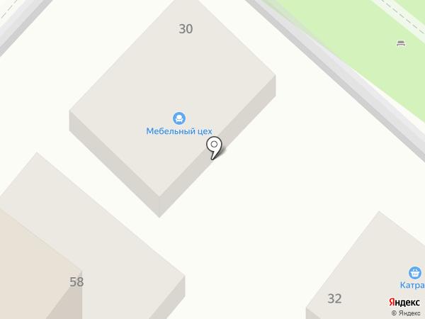 Сливушка на карте Геленджика