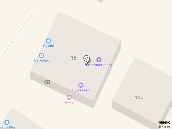 Ника на карте Геленджика