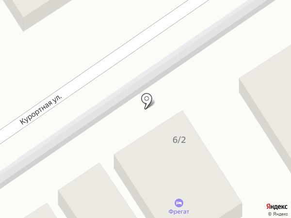 Павлин на карте Геленджика