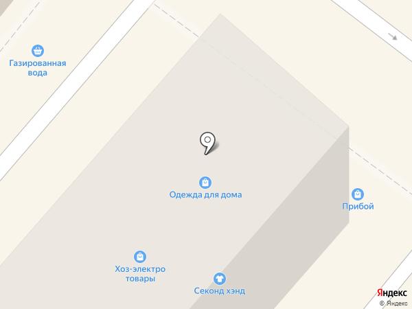 Прибой на карте Геленджика
