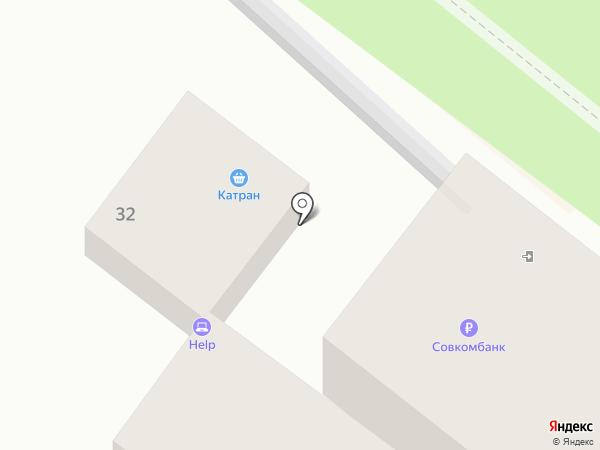 Совкомбанк, ПАО на карте Геленджика