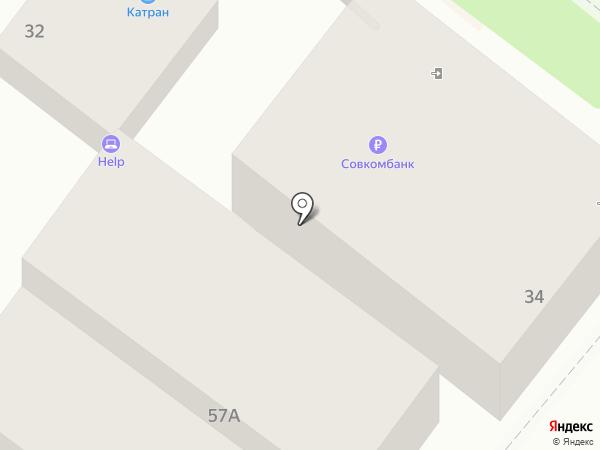 Кардинал на карте Геленджика