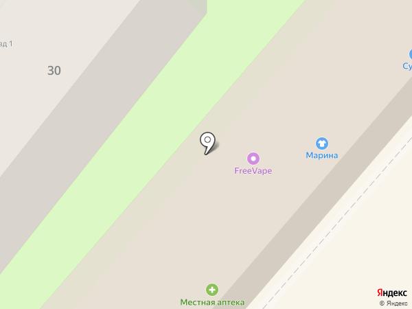 Casio на карте Геленджика