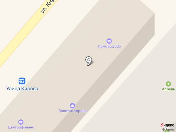 Ирэн на карте Геленджика