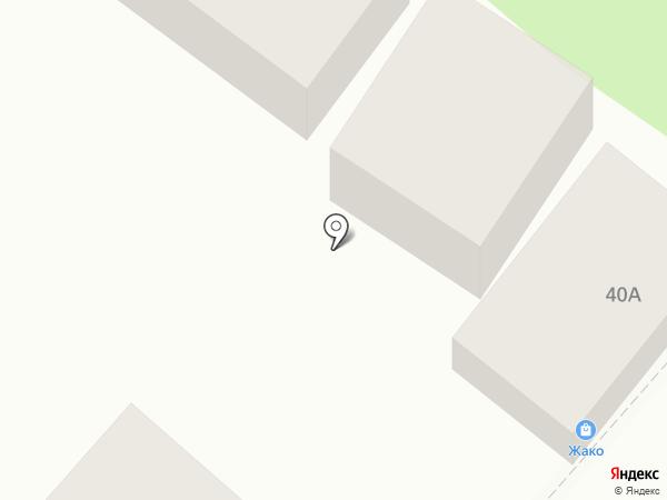Жако на карте Геленджика