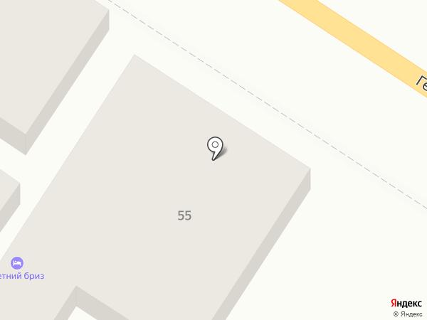 Notebook на карте Геленджика