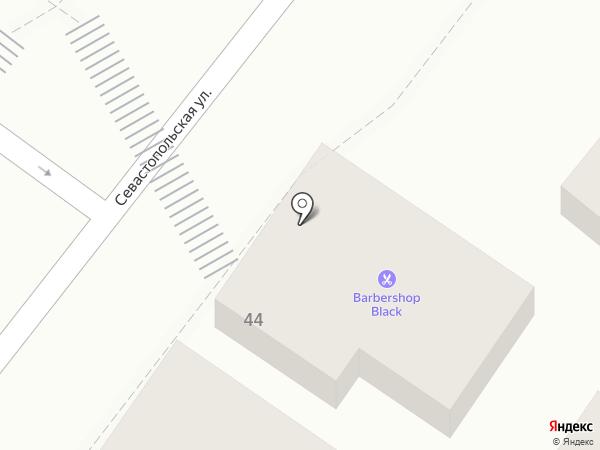На Севостопольской на карте Геленджика
