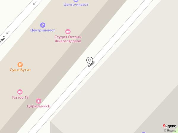 Адвокатский кабинет Наумова А.Н. на карте Геленджика