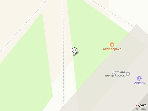 Росток на карте Геленджика