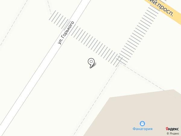 Fanagoria на карте Геленджика