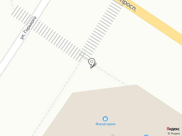Мега+ на карте Геленджика