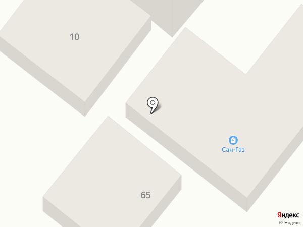 Авилон на карте Геленджика