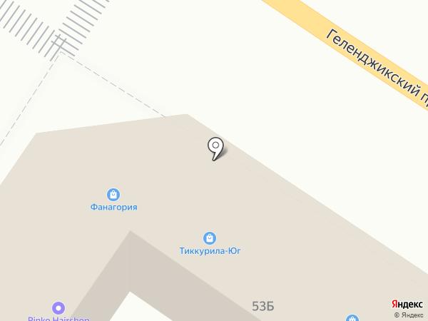 Тиккурила-Юг на карте Геленджика