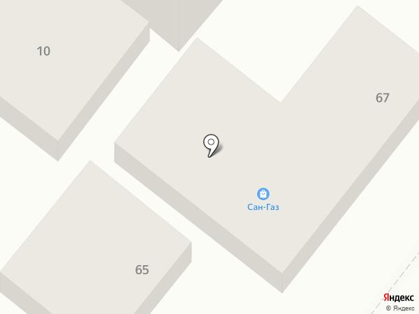 Краевая крейсерско-парусная школа на карте Геленджика