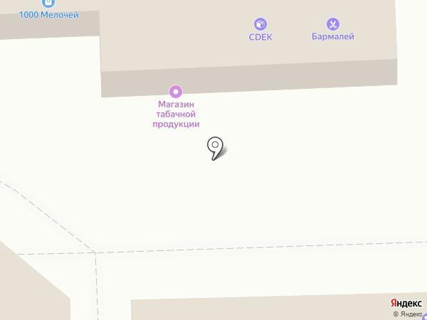Магазин табачной продукции на карте Балашихи