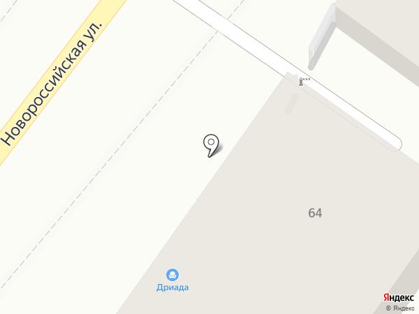 Здравствуй! на карте Геленджика