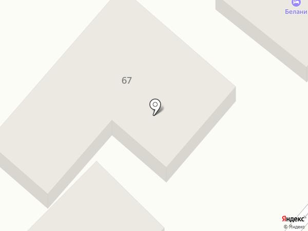 Gloris на карте Геленджика
