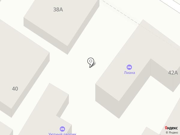 Портал на карте Геленджика