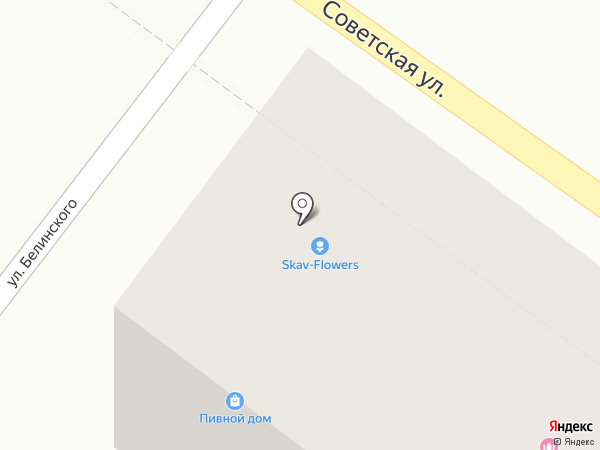 Курочка на карте Геленджика