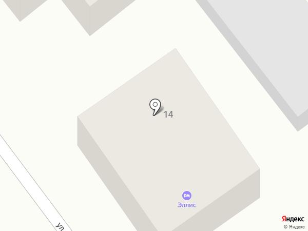 Акварель на карте Геленджика