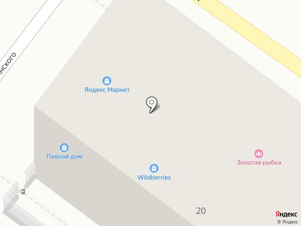 Ляля на карте Геленджика