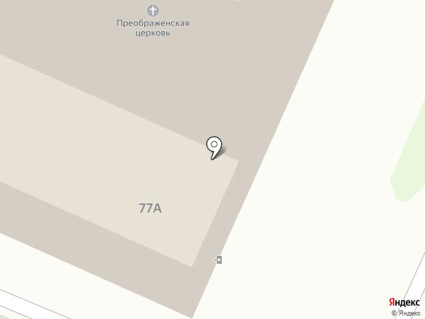 Храм Преображения Господня в Жуковском на карте Жуковского