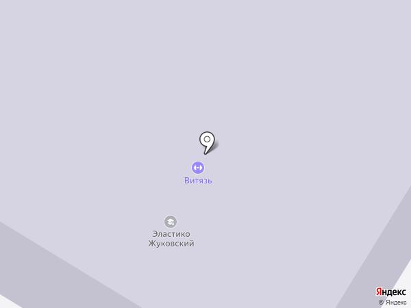 Средняя общеобразовательная школа №15 на карте Жуковского