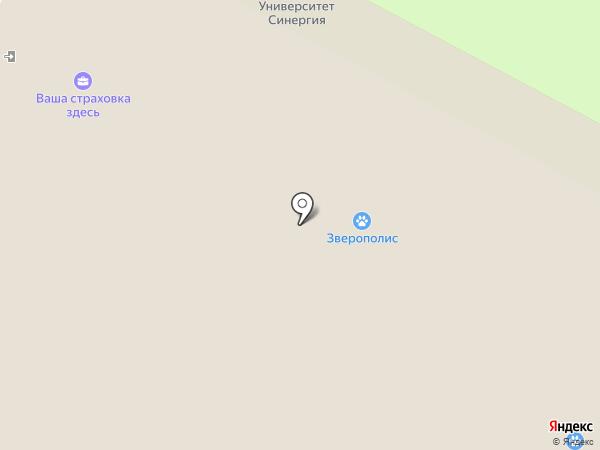 ИННОВЕТ на карте Жуковского